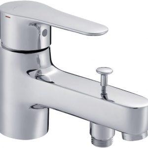 Mitigeur bain-douche JULY monotrou, chromé JACOB DELAFON