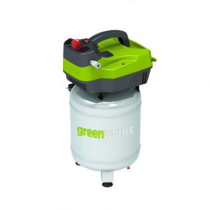 Compresseur d'air vertical 24L, GREENWORKS Tools