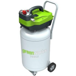 Compresseur d'air vertical 50L, GREENWORKS Tools