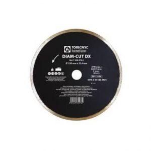 Disque diamantés à eau diamètre 230 mm - TOMECANIC