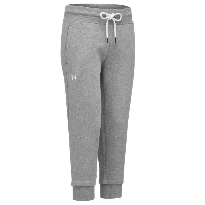 Under-Armour-femme-s-Cotton-Fleece-Slim-Jogger-Running-Gris-1