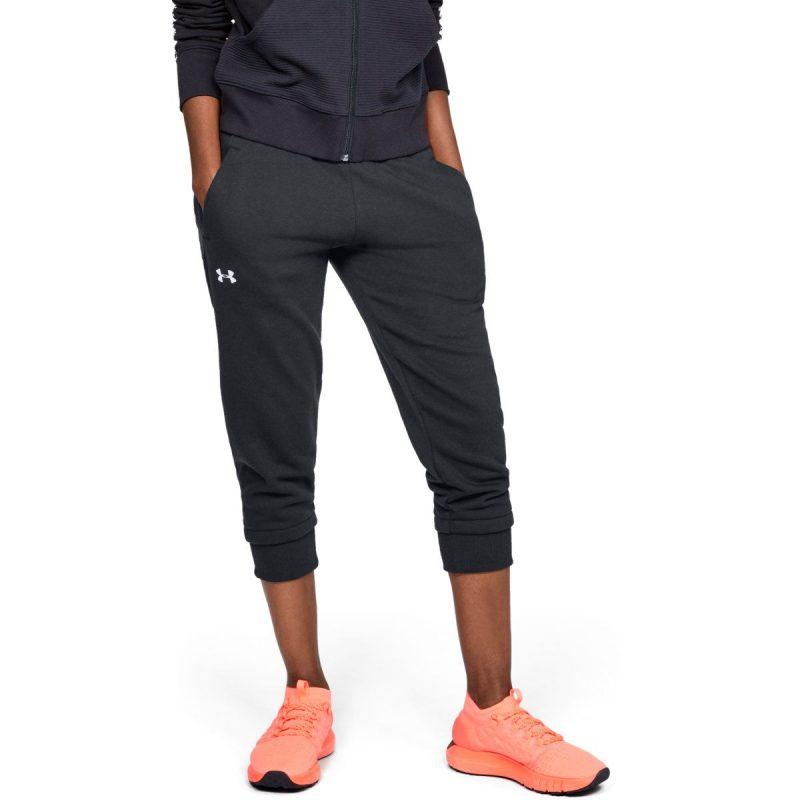 Under-Armour-femme-s-Cotton-Fleece-Slim-Jogger-Running-Noir-3