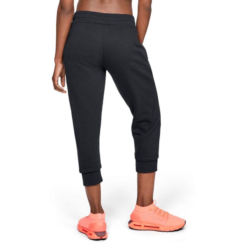 Under-Armour-femme-s-Cotton-Fleece-Slim-Jogger-Running-Noir-5