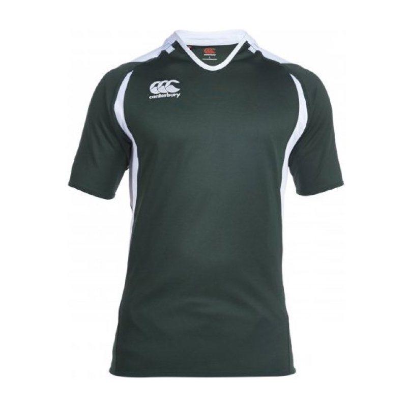 canterbury-challenge-jersey-junior-vert-blanc-enfant-1