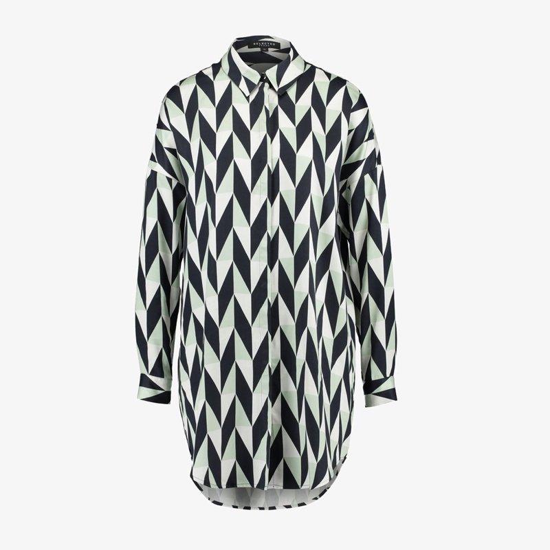 chemise-longue-selected-femme-imprimé-3