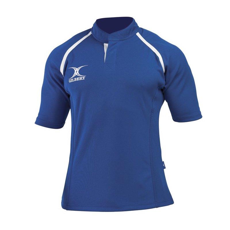 gilbert-MatchShirt-Xact-tShirt-bleu-Roi-8-ans