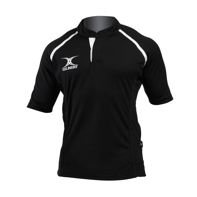 gilbert-MatchShirt-Xact-tShirt-noir-8-ans