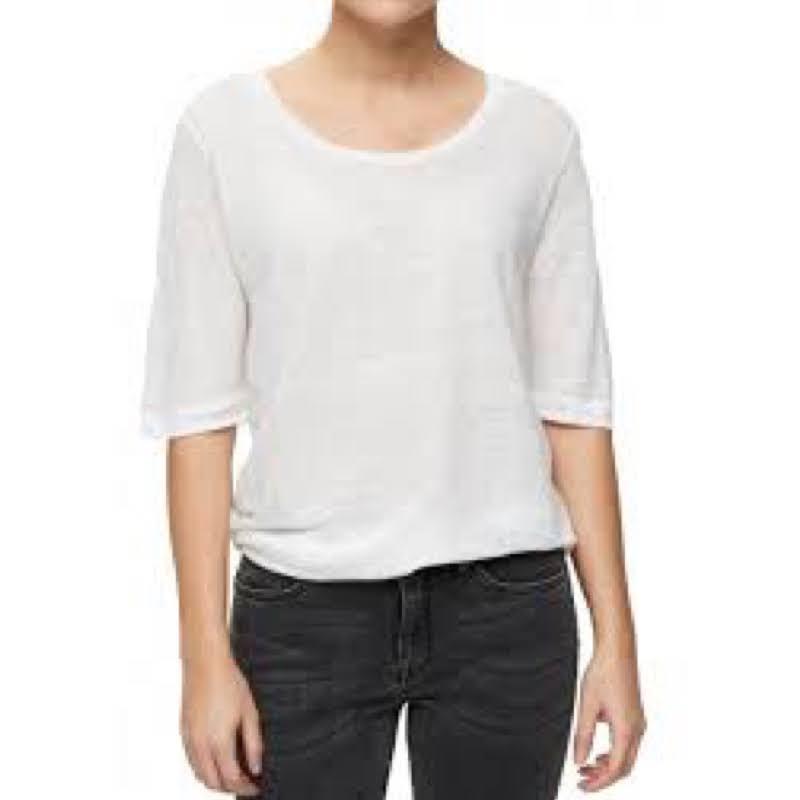 haut-teeshirt-femme-selected-blanc-2