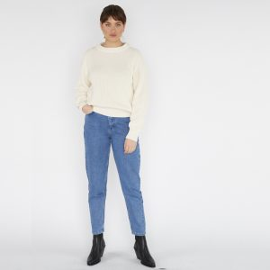Pantalon - MINIMUM Texas Straight Jeans Femme 27
