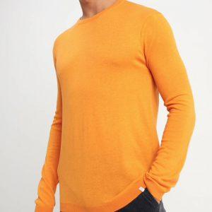 jumper-pull-tricot-orange-minimum-homme-1-1