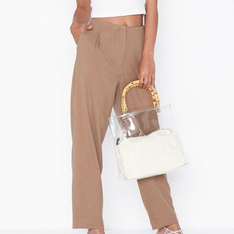 pantalon-selected-femme-marron-1