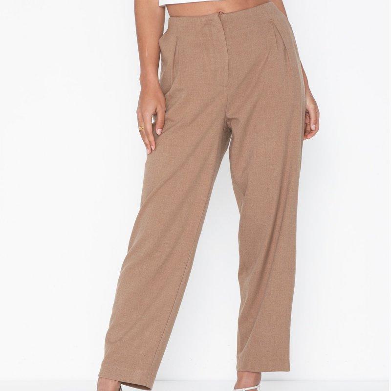 pantalon-selected-femme-marron-3