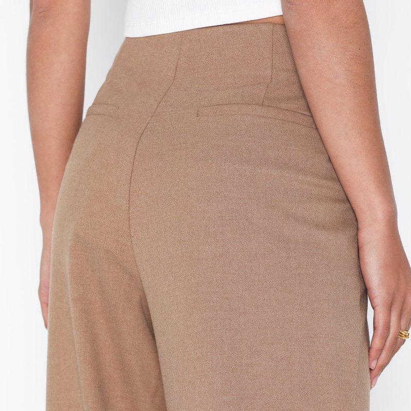 pantalon-selected-femme-marron-4