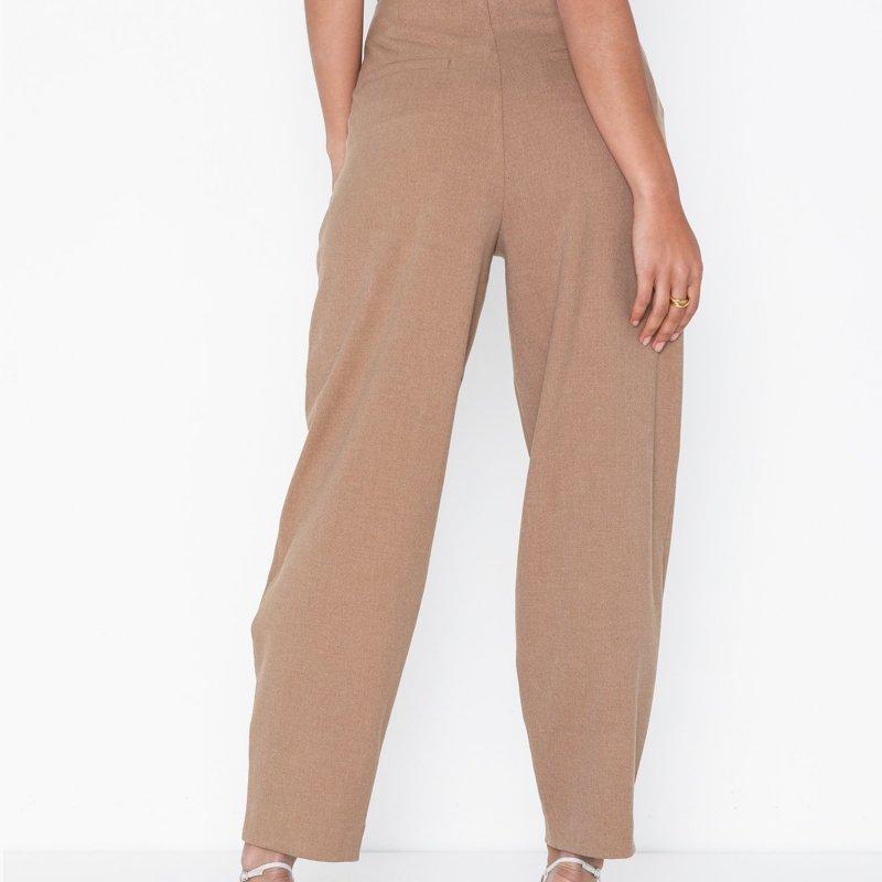 pantalon-selected-femme-marron-5