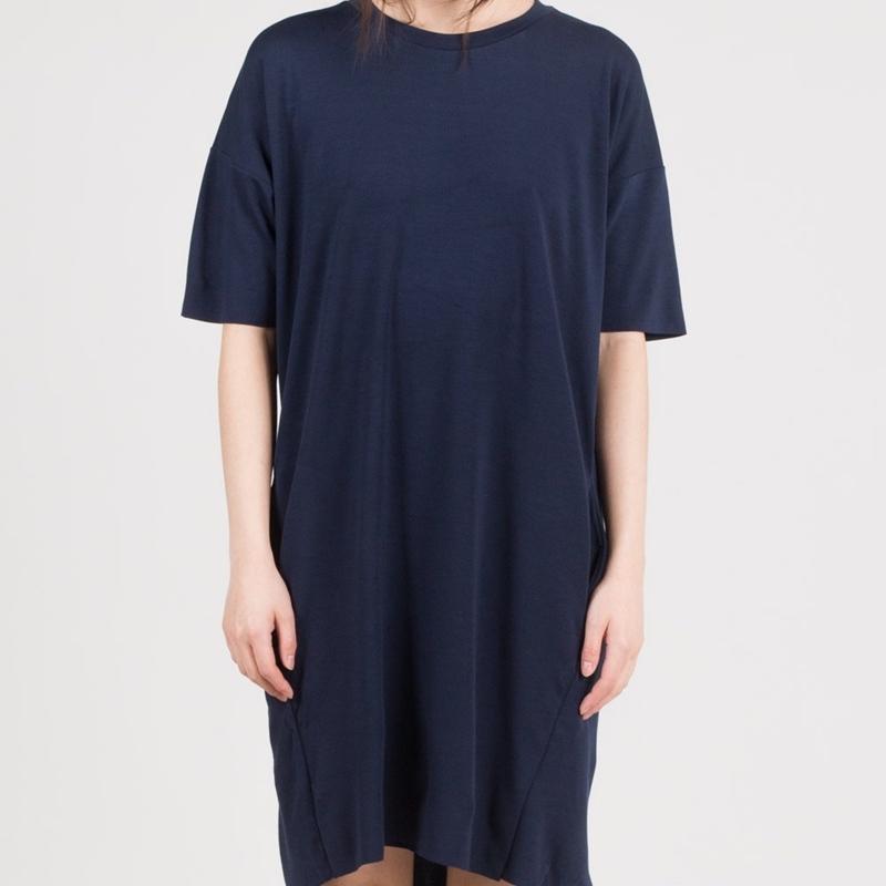 robe-courte-bleu-gris-femme-minimum-4