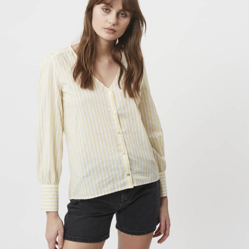 shirt-chemise-femme-jaune-minimum-1