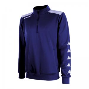 sweat-kappa-sacco-1-2-zip-bleu-marine-10-ans