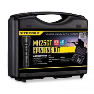 Kit lampe - NITECORE Hunting Kit Mh25gt