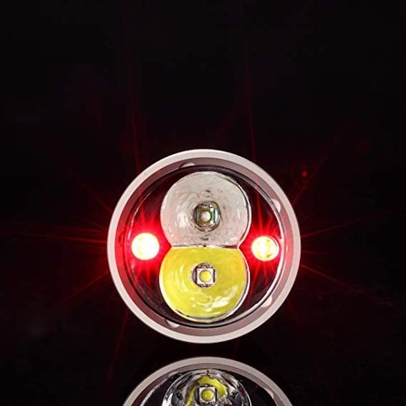 lampe-nitecore-chameleon-series-ci6-440-lumens-chasse-tete-infrarouge