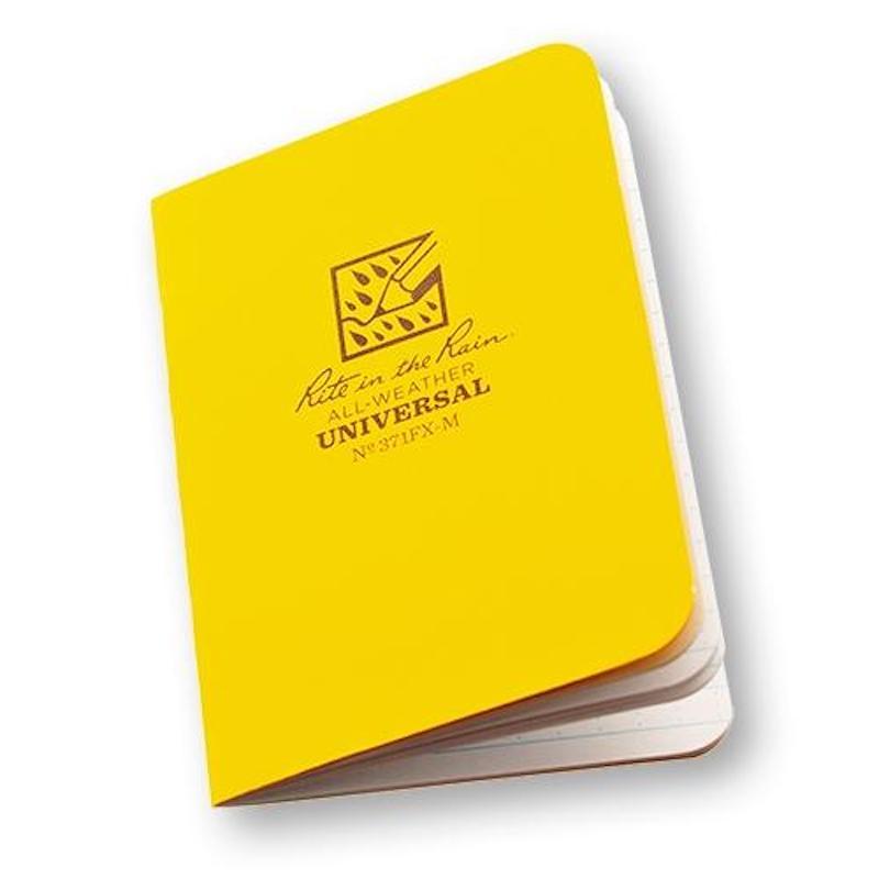 livre-écrire-notebook-pluie-waterproof-1
