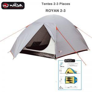 Tente - WILSA OUTDOOR EQUIPMENT Royan 2-3