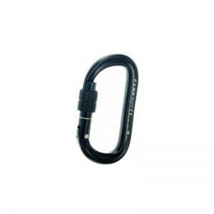 Mousqueton Oval XL Lock Noir