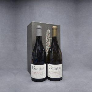 Coffret Cadeau 2 Vins G Gangloff, 1 Rouge et 1 Blanc La Salveterra