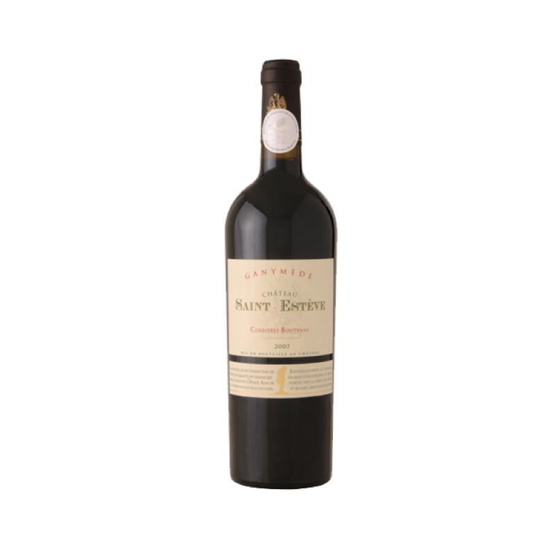 ganymède château saint esthète vin rouge