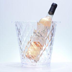Seau Vasque à Vin ou Champagne Prisme
