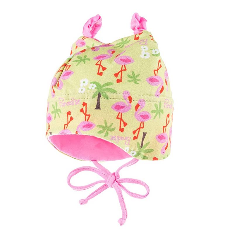 bonnet-bébé-fille-maximo-flamingo-rose-anti-uv-1