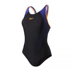 Speedo Fit Laneback Swimsuit Maillot de Bain Femme