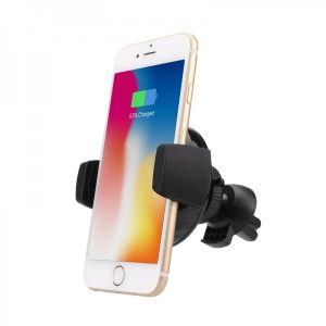 Smart Case Support Voiture Rotatif 360° Chargeur A Induction Intégré