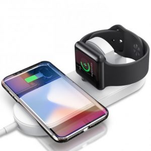 Smart Case Mini Chargeur À Induction QI Sans Fil Pour IWatch Et Smartphone