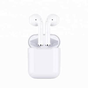 Ecouteurs Stéréo Bluetooth Binaural Sans Fil Blanc