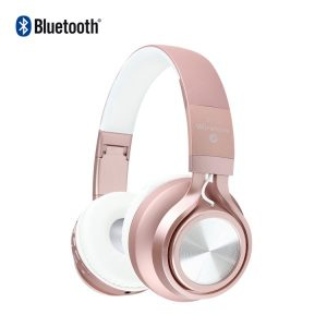 Casque Stéréo Bluetooth Rose