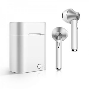 Ecouteurs Stéréo Sans fil Bluetooth Binaural Blanc