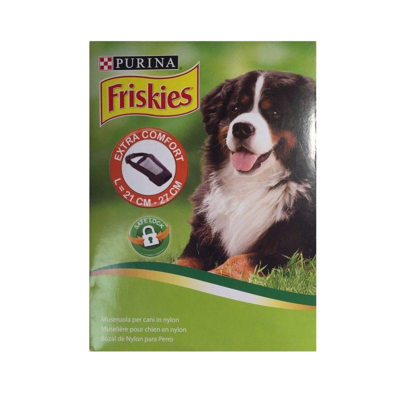Museliere-chien-confort-friskies-nylon