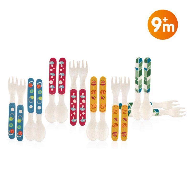 Nuby-Bamboo-Cutlery