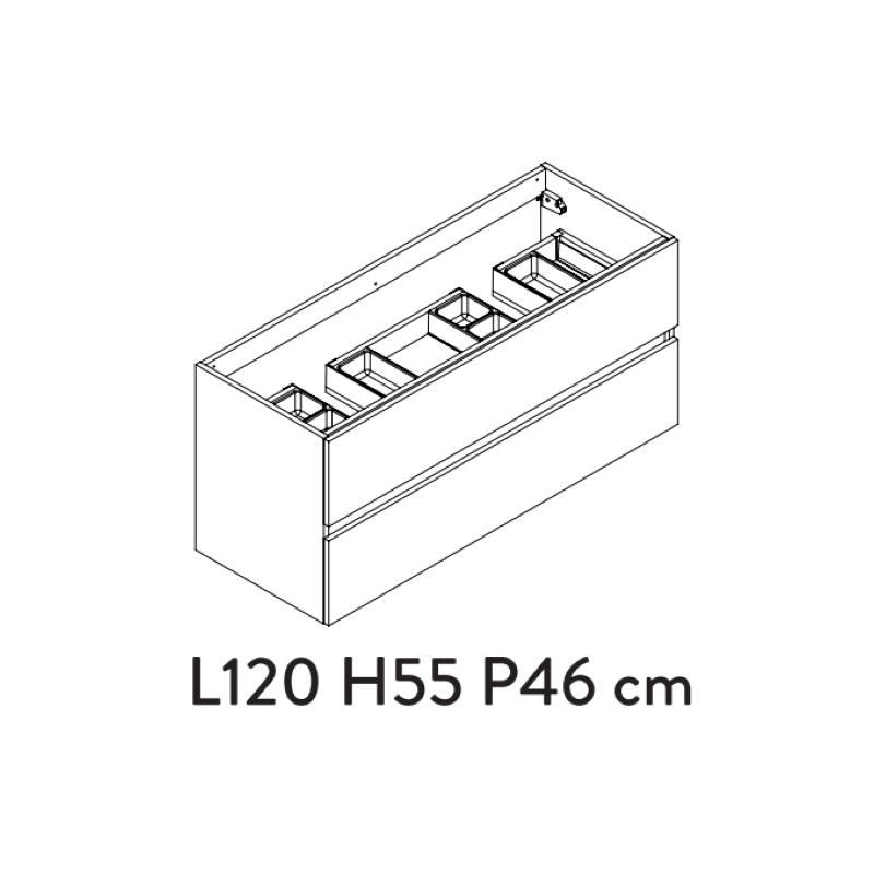 meuble-sous-plan-prefixe-plus-120cm-2-tiroirs-blanc-brillant---aquarine-ref-241463-p-image-1733358-grande